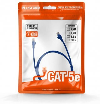 PATCH+CORD+NAC.+CAT5E+5+METROS+PLUS+CABLE+PC-ETHU50BL