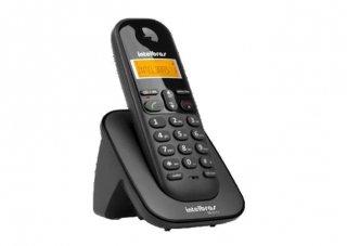 TELEFONE+SEM+FIO+TS-2510+ID+PRETO+INTELBRAS