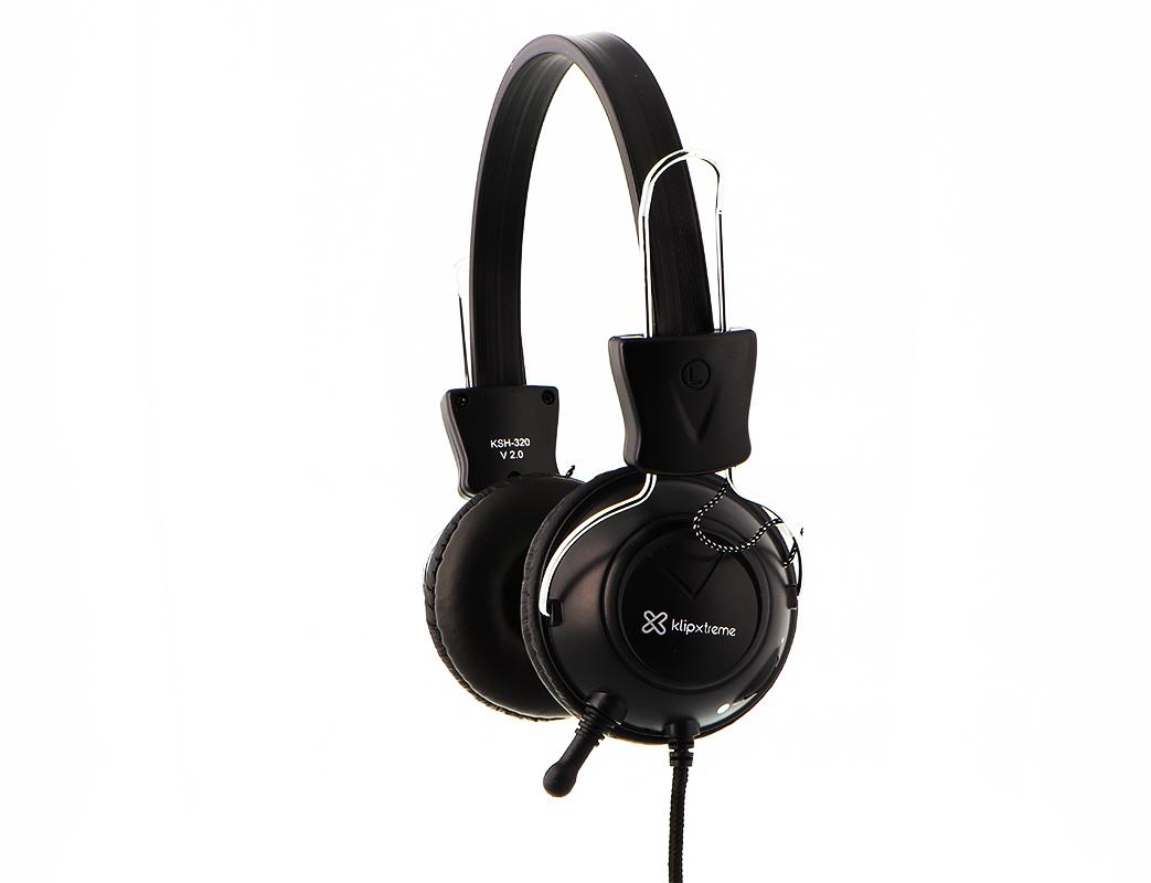 HEADSET KSH-320 COM CONTROLE DE VOLUME KLIPX
