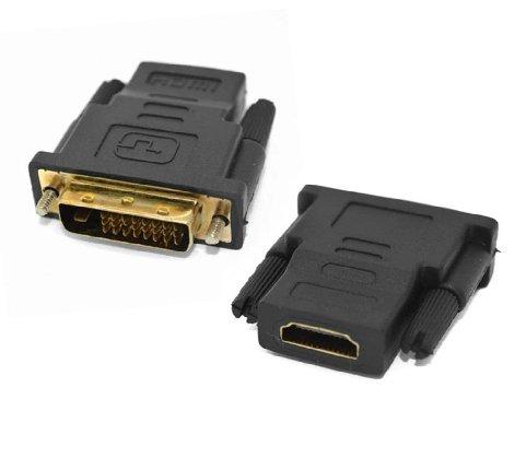 ADAPTADOR HDMI FEMEA X DVI-D MACHO 19B14094 TEC-KCB-6B 8318