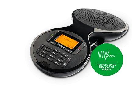 AUDIOCONFERÊNCIA SEM FIO DIGITAL TS-9160 PRETO INTELBRAS