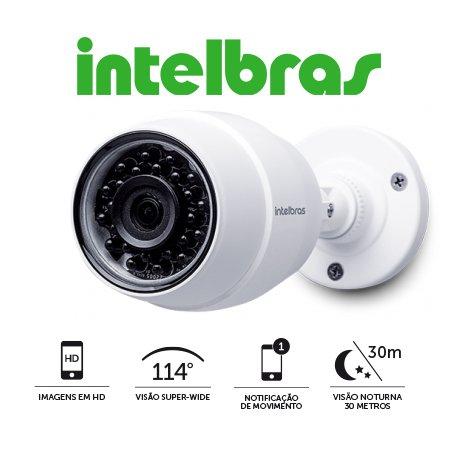 CAMERA DE SEGURANÇA WIFI HD IC5 INTELBRAS