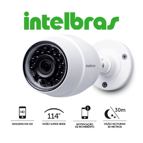 CAMERA+DE+SEGURAN%C3%87A+WIFI+HD+IC5+INTELBRAS