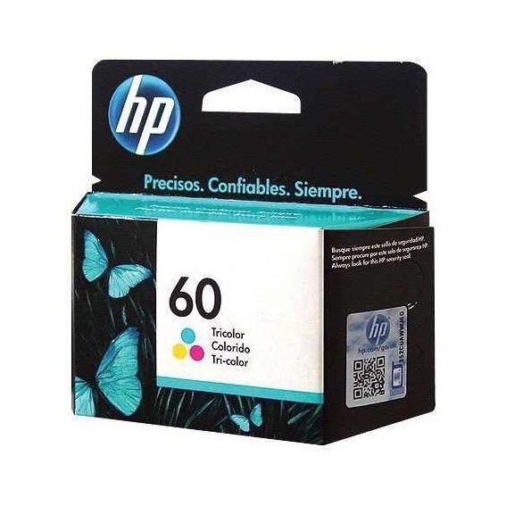 CARTUCHO HP 60 COLOR  CC643WB 6,5 ML