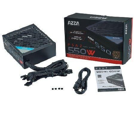 FONTE ATX 550W PSAZ-550WG ENT. 110-240V AZZA