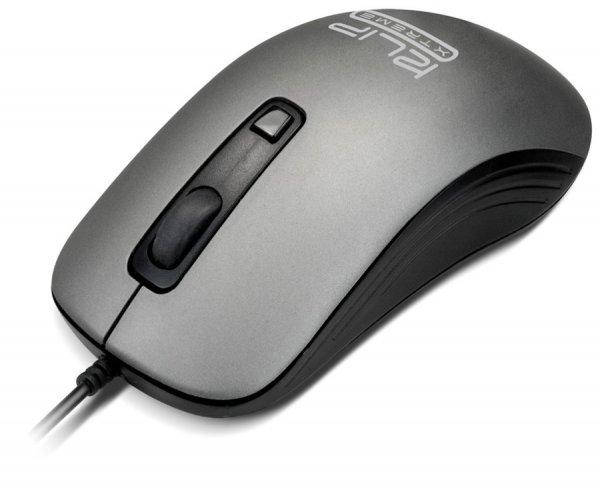 MOUSE COM FIO USB 1600DPI CINZA KMO-111 KLIPX