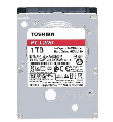 """HD 1TB P/ NOTEBOOK HDWL110UZSVA 2.5"""" 5400RPM 8MB TOSHIBA"""