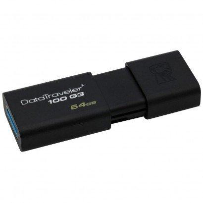PEN+DRIVE+64GB+USB+3.1%2F3.0%2F2.0+NAC.+DT100G3%2F64GB+KINGSTON