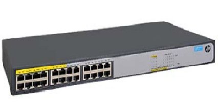 SWITCH 24 PORTAS NAC. 1420 24G POE JH019A#AC4 HEWLETT PACKARD